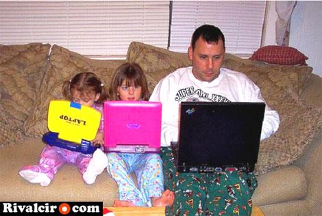 Twita pai, twita mãe, twita filha eu tambem sou da família tambem quero twitar!!!